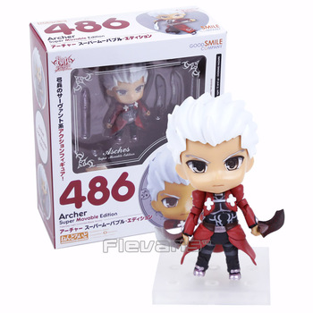 Nendoroid Fate stay Night Archer Süper Movabie Edition #486 PVC Action Figure Oyuncak Bebek