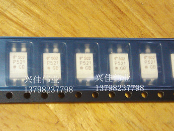 10 ADET Yeni TLP521-1GB TLP521-1 P521 SOP-4 SMD Optocouplers