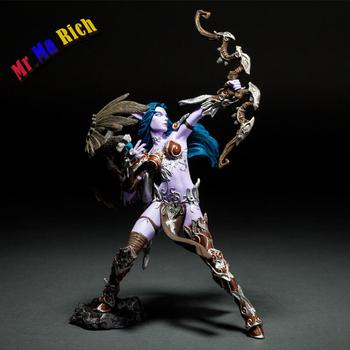 Night Elf Hunter Alathena Moonbreeze Sorna Wow Figura Collezione Oyuncak Modeli