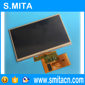 5 inch display+touch LMS500HF05 LMS500HF05 REV0.1 TFT lcd digitizer display panel 120x74mm