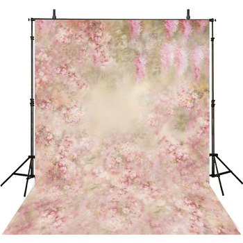Pink Flowers Photography Backdrops Vinyl Backdrop For Photography Girls Background For Photo Studio Foto Achtergrond