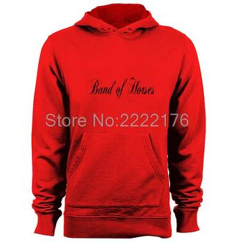 Atların band Mens & Womens Baskı Desen Hoodies