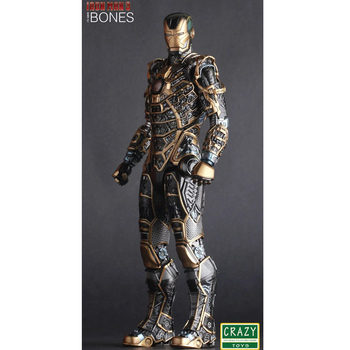Demir Adam Mark XLI Kemikleri Doll PVC Action Figure Koleksiyon Model Oyuncak 30 cm KT2521