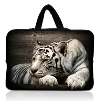 "Tiger 13"" 13.3'' Neoprene Laptop Carrying Bag Sleeve Case Cover Holder For Apple Macbook Pro,Air,HP,DELL"